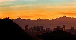 Copyright Visit Phoenixphotographer Credit Nick Cote Sunset Skyline