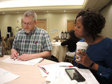 Committee meeting at conference